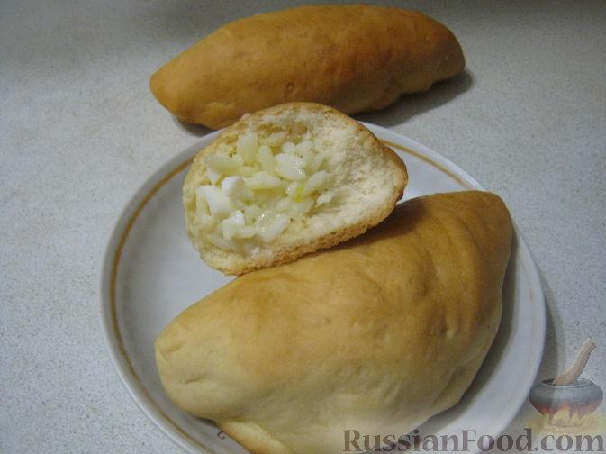 Рецепт Начинки для пирожков из риса с яйцом