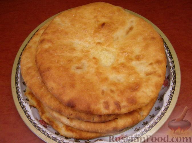 "Рецепт ""Картофчин"" - осетинский пирог с картофелем"