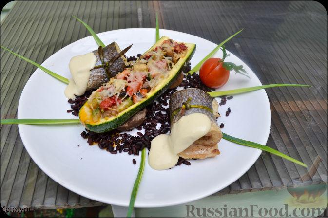 рулеты из сибас рецепт приготовления
