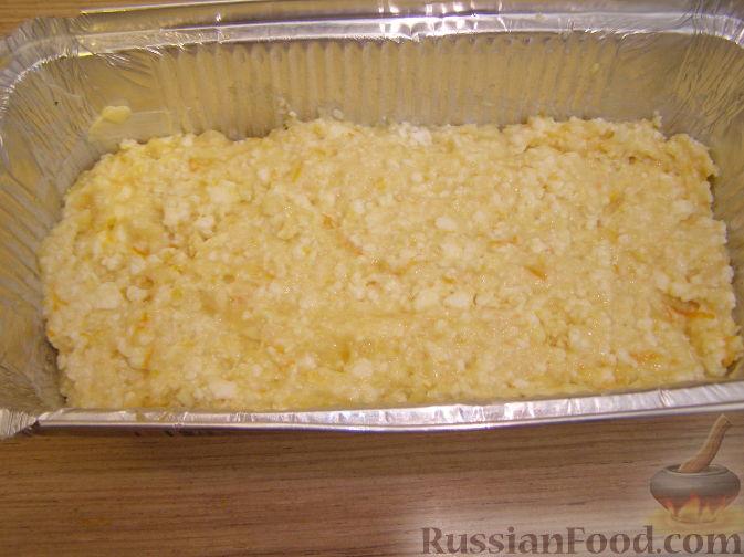 Фото приготовления рецепта: Закрытый пирог из песочного теста с капустной начинкой - шаг №10