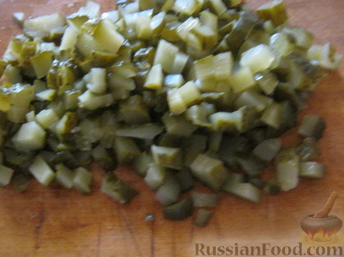 Фото приготовления рецепта: Рассольник с гречкой постный - шаг №8