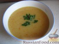 Фото к рецепту: Крем-суп гороховый