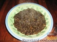 Фото к рецепту: Ризотто с чернилами каракатицы