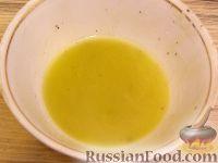 Фото приготовления рецепта: Салат из авокадо с апельсинами - шаг №4