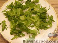 Фото приготовления рецепта: Салат из авокадо с апельсинами - шаг №5