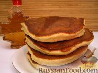 Фото к рецепту: Хоткейки - американские оладьи на молоке