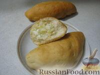 Фото к рецепту: Начинки для пирожков из риса с яйцом