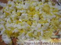 Фото приготовления рецепта: Начинки для пирожков из риса с яйцом - шаг №4
