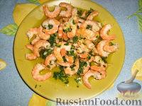 Фото приготовления рецепта: Креветки в лимонно-масляном соусе - шаг №1