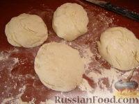 """Фото приготовления рецепта: """"Картофчин"""" - осетинский пирог с картофелем - шаг №8"""