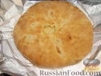 """Фото приготовления рецепта: """"Картофчин"""" - осетинский пирог с картофелем - шаг №14"""