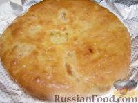 """Фото приготовления рецепта: """"Картофчин"""" - осетинский пирог с картофелем - шаг №15"""