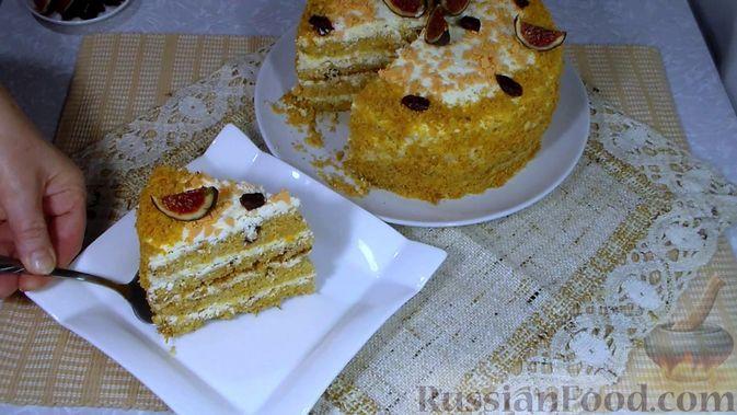Фото приготовления рецепта: Говяжья печень, тушенная в яблочно-сметанном соусе - шаг №16