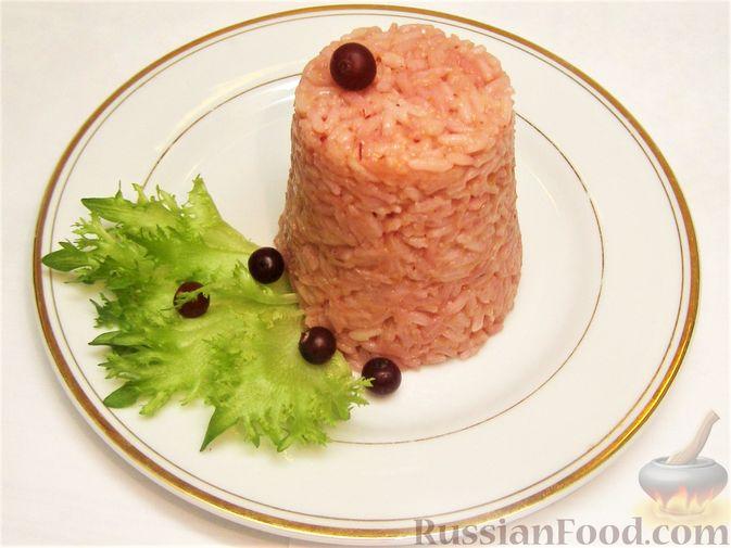 Фото к рецепту: Рис с клюквой