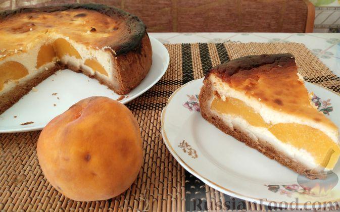 Фото приготовления рецепта: Овсяный крамбл с апельсинами и заварным кремом - шаг №10