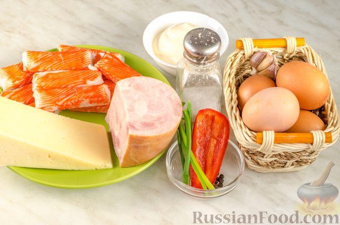 Фото приготовления рецепта: Несладкий картофельный хворост - шаг №7