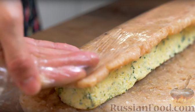 Фото приготовления рецепта: Щи из свежей капусты с пшеном и свининой - шаг №2