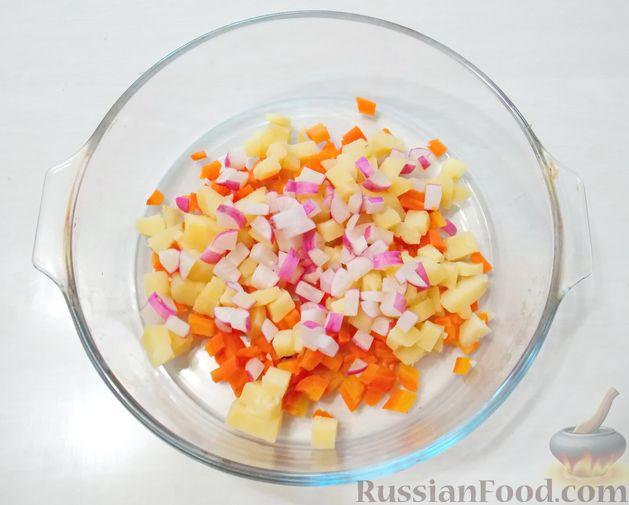 Фото приготовления рецепта: Песочное печенье с орехами - шаг №9