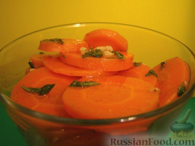 Рецепт Салат из моркови в остром маринаде