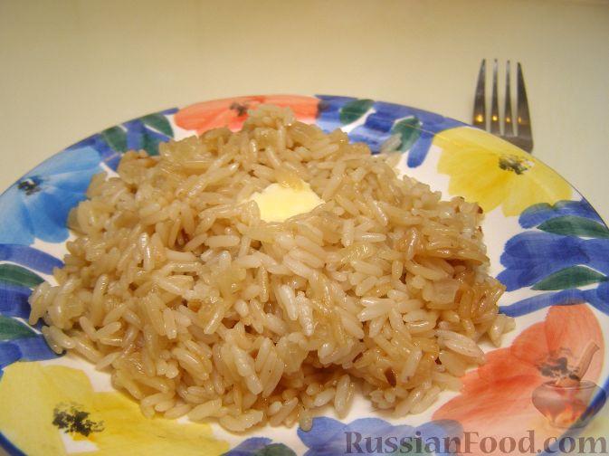 Рецепт рыба с рисом в духовке с фото пошагово