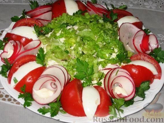 """Фото приготовления рецепта: Салат """"Нарядный"""" с топинамбуром - шаг №2"""