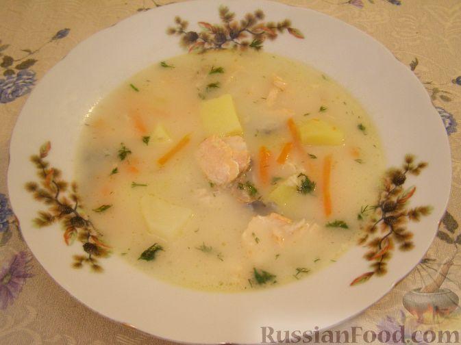 """Рецепт Рыбный суп """"Финские мотивы"""""""