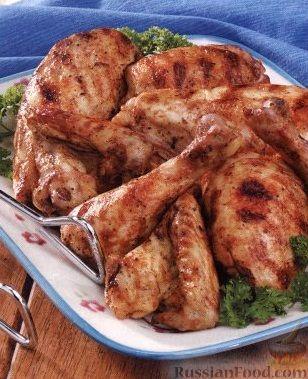 Рецепт Курица-гриль в маринаде с яблочным уксусом