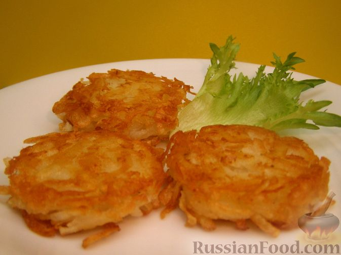 Рецепт Хэшбраун - американские картофельные оладьи
