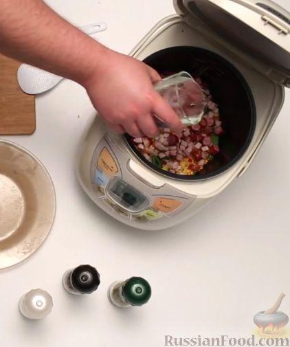 гороховый суп в мультиварке пошаговый рецепт видео