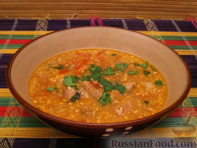Рецепт Суп-харчо с курицей