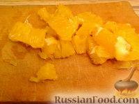 Фото приготовления рецепта: Рисовый салат с апельсинами и кедровыми орехами - шаг №5