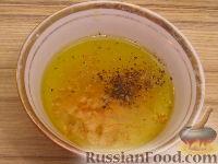 Фото приготовления рецепта: Рисовый салат с апельсинами и кедровыми орехами - шаг №8
