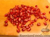 Фото приготовления рецепта: Рисовый салат с апельсинами и кедровыми орехами - шаг №6