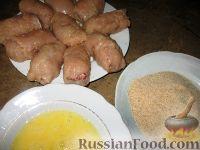 Фото приготовления рецепта: Куриные завороты - шаг №4