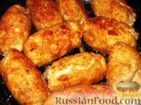 Фото приготовления рецепта: Куриные завороты - шаг №5