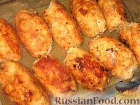 Фото приготовления рецепта: Куриные завороты - шаг №6