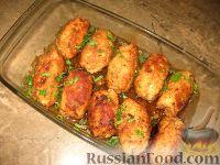 Фото приготовления рецепта: Куриные завороты - шаг №7