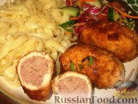 Фото приготовления рецепта: Куриные завороты - шаг №8