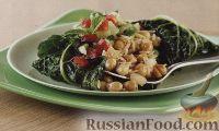Фото к рецепту: Вегетарианские голубцы с рисом и нутом