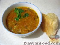 Фото к рецепту: Постный суп харчо