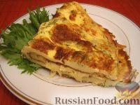 Фото к рецепту: Омлет с сыром