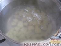 Фото приготовления рецепта: Суп картофельный со свежими грибами - шаг №3