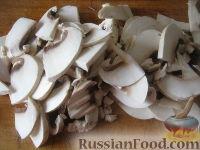 Фото приготовления рецепта: Суп картофельный со свежими грибами - шаг №6