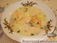 """Фото приготовления рецепта: Рыбный суп """"Финские мотивы"""" - шаг №13"""