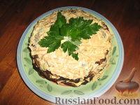 Фото к рецепту: Печеночный тортик