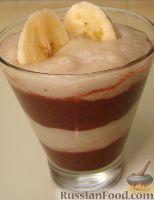 Фото приготовления рецепта: Смузи вишнево-банановый - шаг №5
