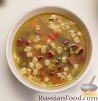 Фото к рецепту: Гороховый суп (в мультиварке)