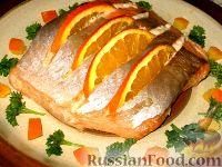 Фото к рецепту: Апельсиновая семга
