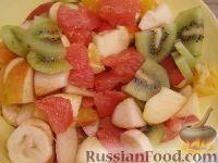 """Фото приготовления рецепта: Фруктовый салат """"Только для взрослых"""" - шаг №9"""