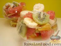 """Фото приготовления рецепта: Фруктовый салат """"Только для взрослых"""" - шаг №10"""
